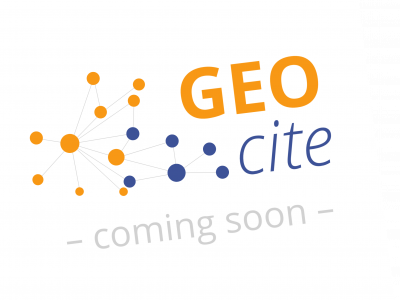 December 2018 – Extension/Renewal of the DFG-funded project approved: GEOcite is in development.
